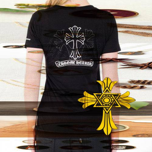 Chrome Hearts  Flag Tee women dress shoes