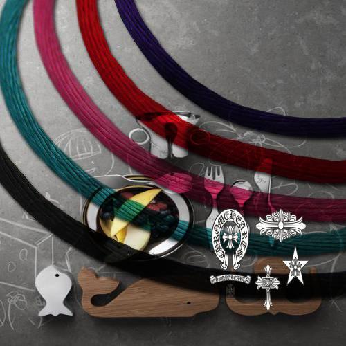 Chrome Hearts Pendant Dogtag Union Jack handbag collection