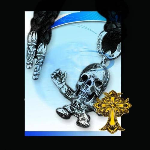 Chrome Hearts Pendant Spade Cross L bags designs