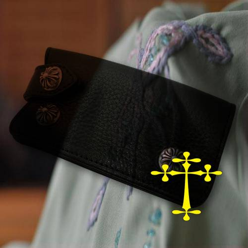 Chrome Hearts Bracelet KZm A Dagger Black Satin bags online shop