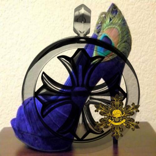 Chrome Hearts Pendant Necklace Paperchain wSM CH cross cheap wedge shoes