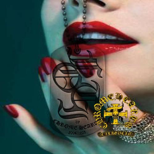 Chrome Hearts ID Bracelet Floral Heart Dagger buy purses online