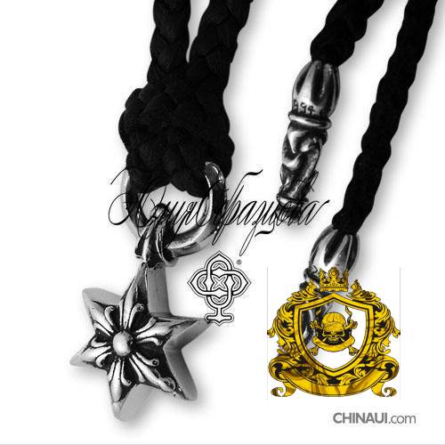 CHROME HEARTS NECKLACE LARGE DAGGER  12288 w PEPER CHAIN 20 long coats for women