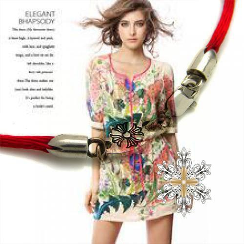 CHROME HEARTS RING V BAND BS FLEUR shopping online for dresses