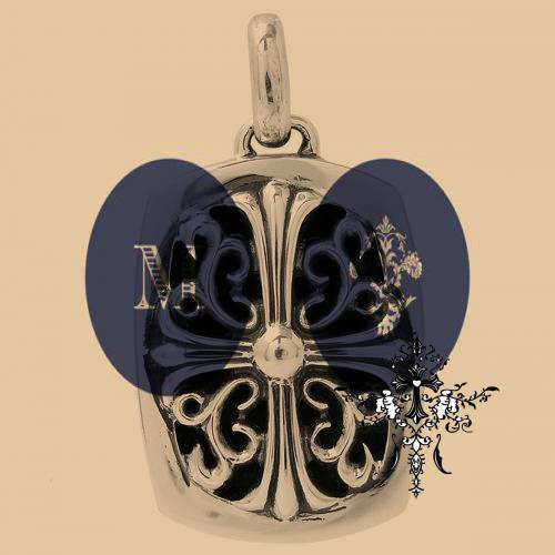 Chrome Hearts Charm Dagger With Sapphire vintage coach bags