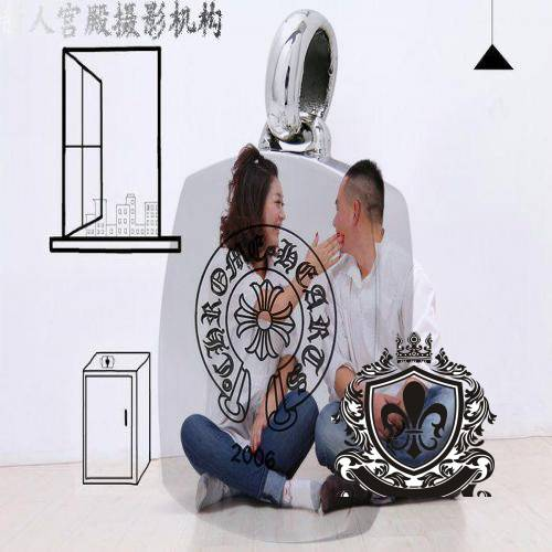 Chrome Hearts Charm Dagger With Sapphire online shoes for women cheap