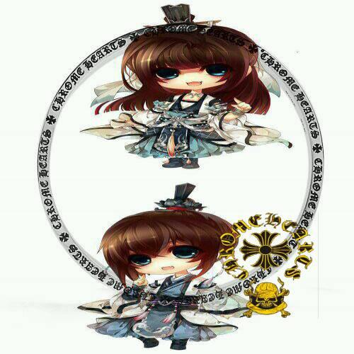Chrome Hearts Pendant Necklace Paperchain wSM CH cross headphones