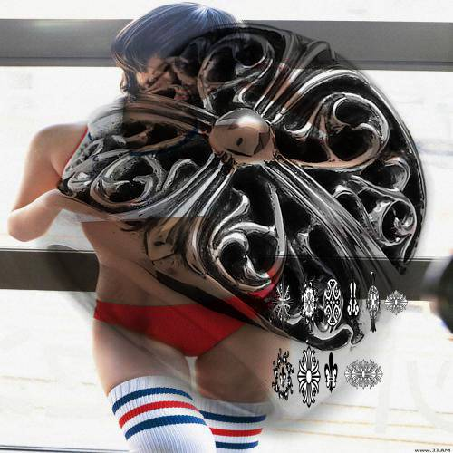 Chrome Hearts Tee Skull coach patchwork handbags