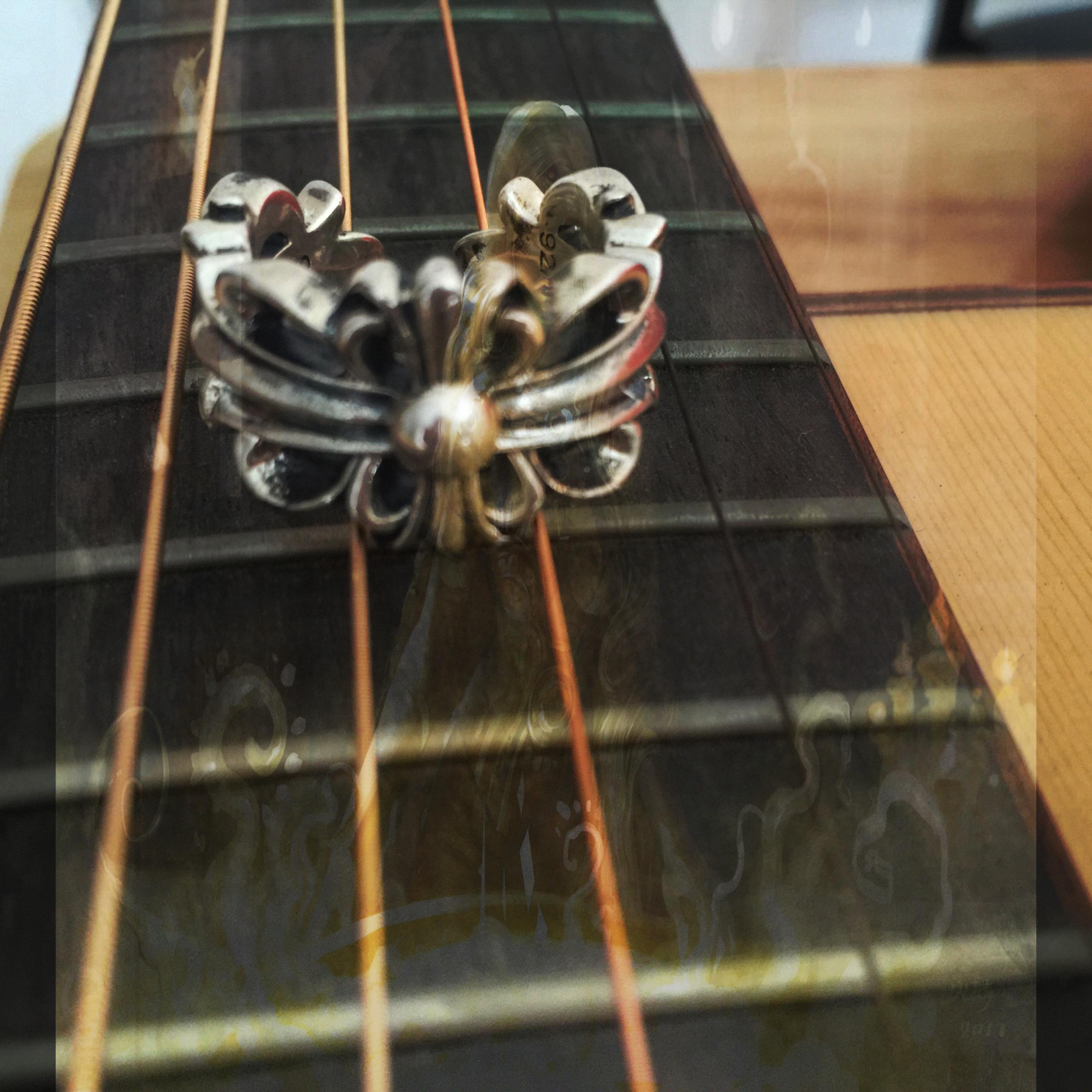chrome hearts ring 0015 evil eye jewelry